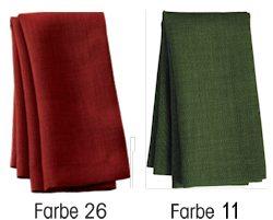 Sander Tischwäsche LOFT Farben 11 und 26
