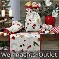 Sander Weihnachtstischdecken reduziert zum Outlet-Preis