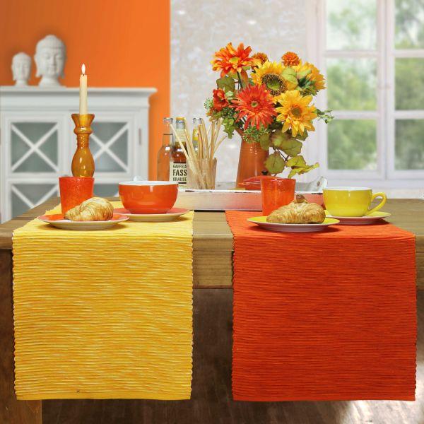 RESTMENGE! 1 Tischset BREEZE Farbe 9-zitrone