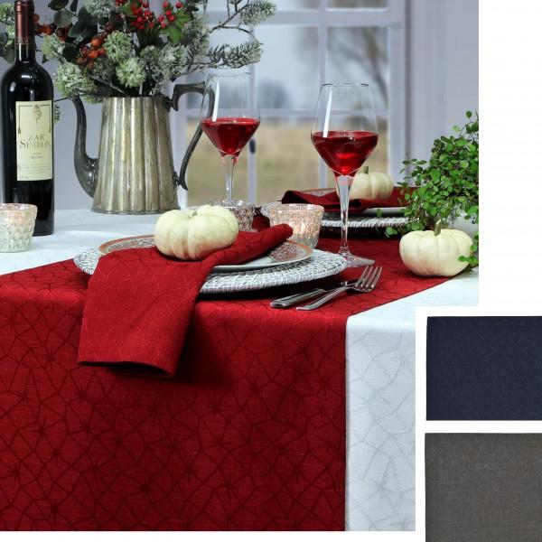 festliche Tischdecke LOFT STAR mit Fleckschutz (0)