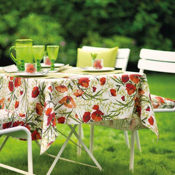 BISTRO ALVOR 2 Tischsets eckig abwaschbar