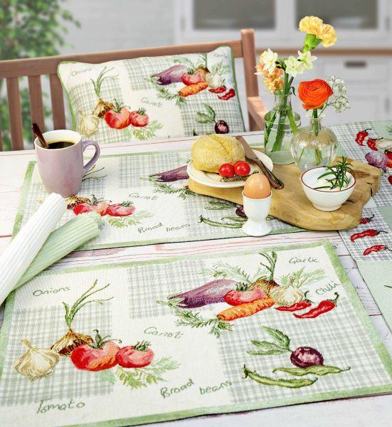 Tischläufer/Tischband VEGETABLES