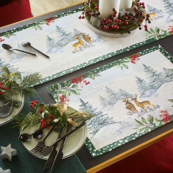 2 Tischsets WINTER SCENERY