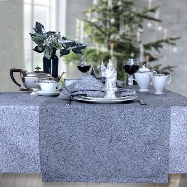 Weihnachtsmitteldecke RICCARDO 85x85cm, grafit (0)