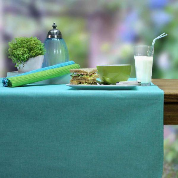 BISTRO ALLEGRO CLASSIC 2 Tischsets abwaschbar aqua/mint