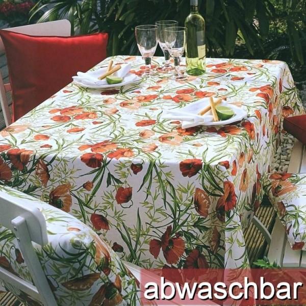 BISTRO ALVOR 6 Tischsets eckig oder oval abwaschbar (0)