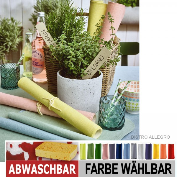 BISTRO ALLEGRO Tischdecke abwaschbar (0)