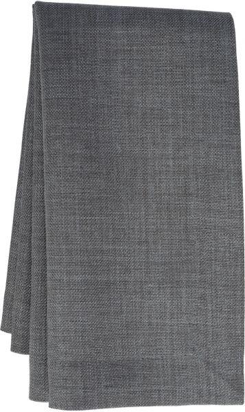 EINZELSTÜCK! Tischdecke LOFT 110x180cm oval, Farbe 34-grafit