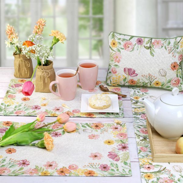 2 Tischset SWEET FLOWERS