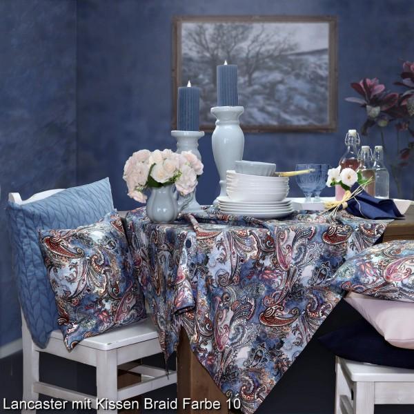 Tischläufer LANCASTER 45x140cm , Farbe 64-navy blue (0)