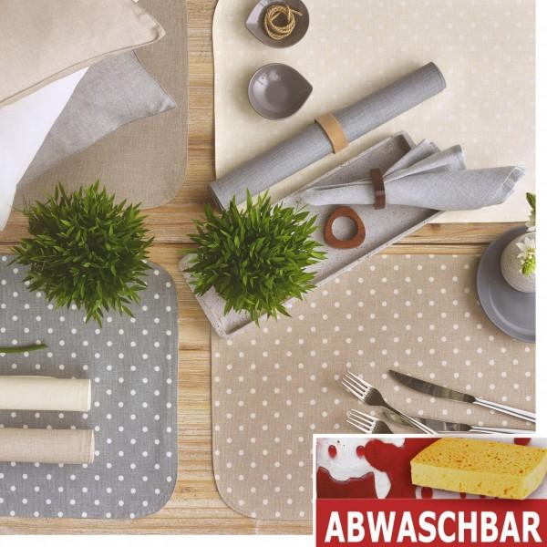 BISTRO PUNTINO 2 Tischsets abwaschbar (0)