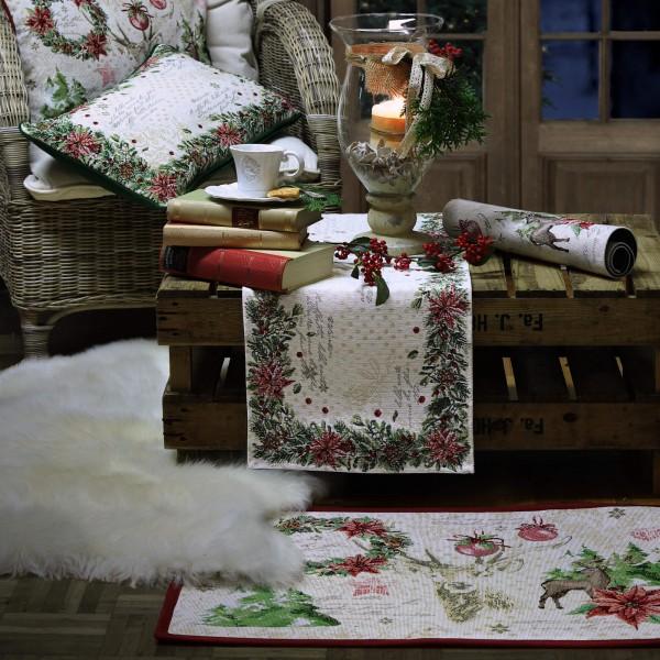 Gobelin Fußmatte Weihnachten X-MAS ROMANCE (0)