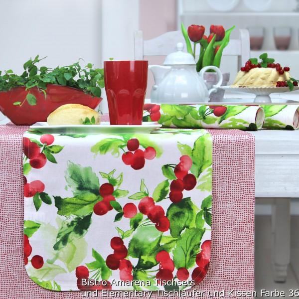 BISTRO AMARENA Tischläufer abwaschbar (0)