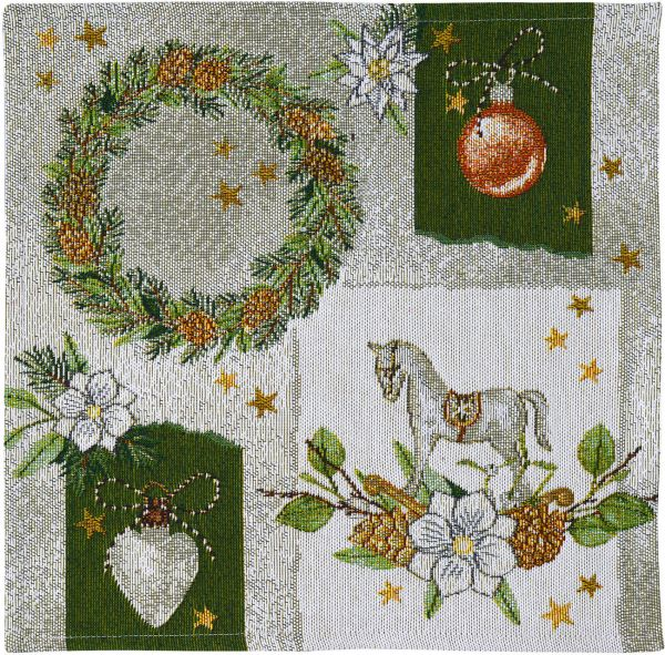 2 Tischsets Gobelin CHRISTMAS TIME