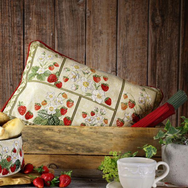 Kissen gefüllt Gobelin SWEET BERRY