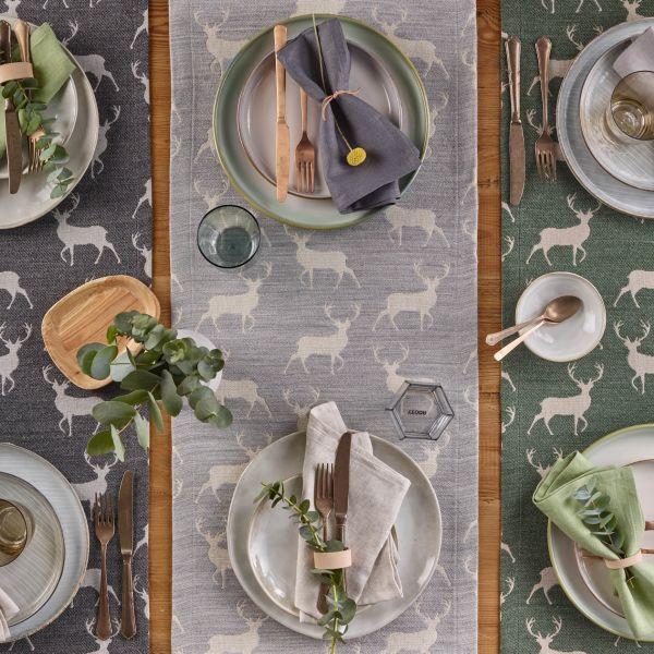 2 Tischsets CACCIA