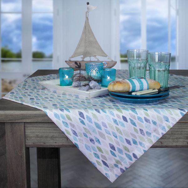 2 Tischsets ALBA, Farbe 67-aqua