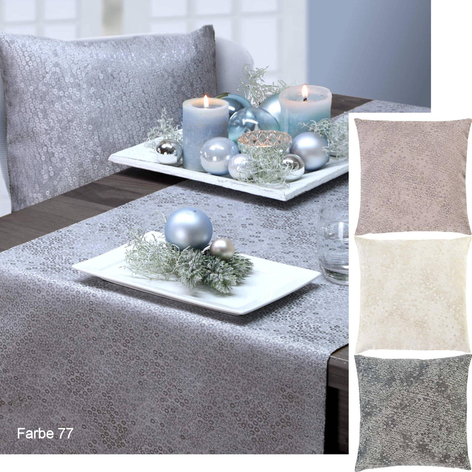 festliche Mitteldecke CIRCOLO von Sander table and home, Farbe 75