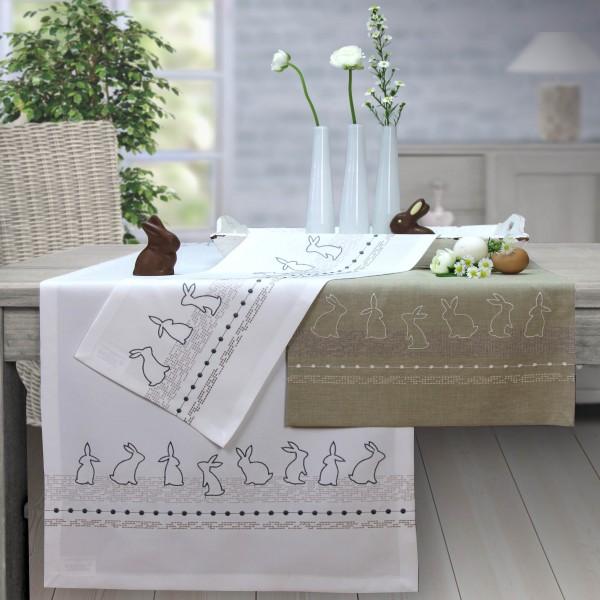 Tischband / Tischläufer RABBITS Ostern (0)