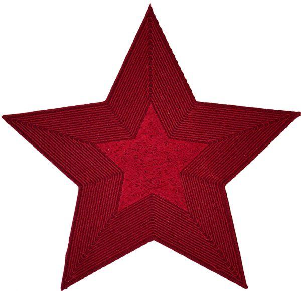 exklusive Sterne Deckchen FALLING STARS im 2-er Pack mit handgeführter Stickerei
