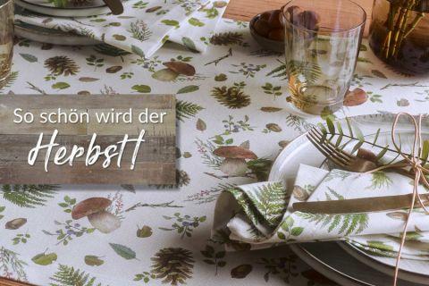 Sander Tischwäsche - bequem online shoppen! | Sander Tischwäsche