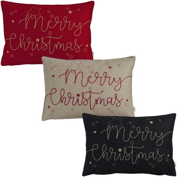 Kissenhülle MERRY CHRISTMAS