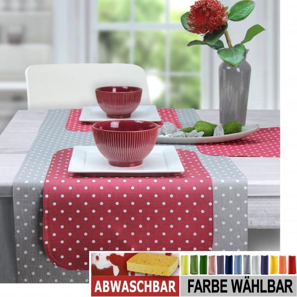 BISTRO PUNTINO Tischläufer abwaschbar, Farbe 37 (0)