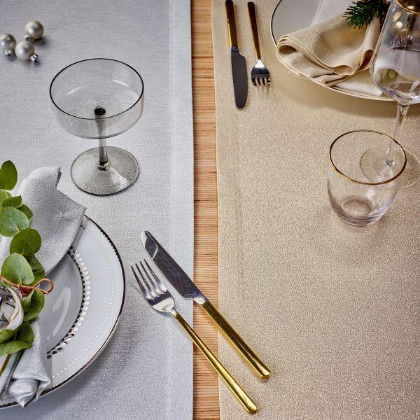 festliche Tischdecke PREZIOSO mit Fleckschutz