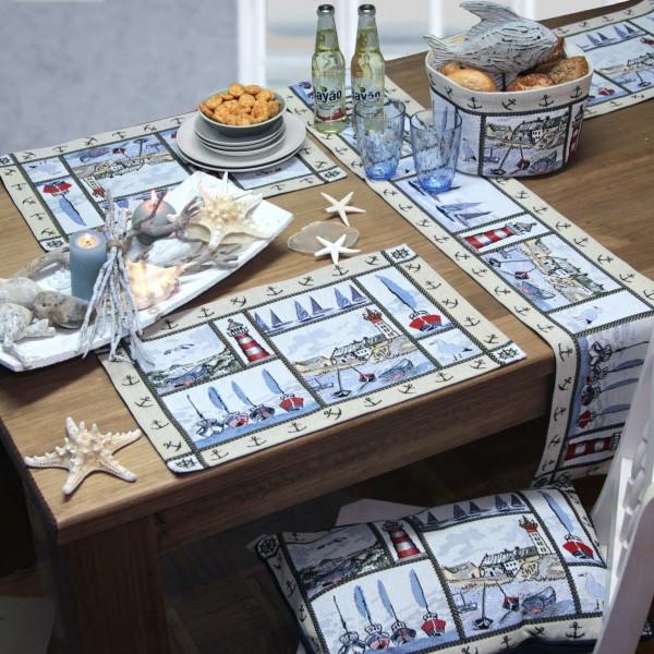 Sander Gobelin Tischband / Tischläufer SEASIDE (0)