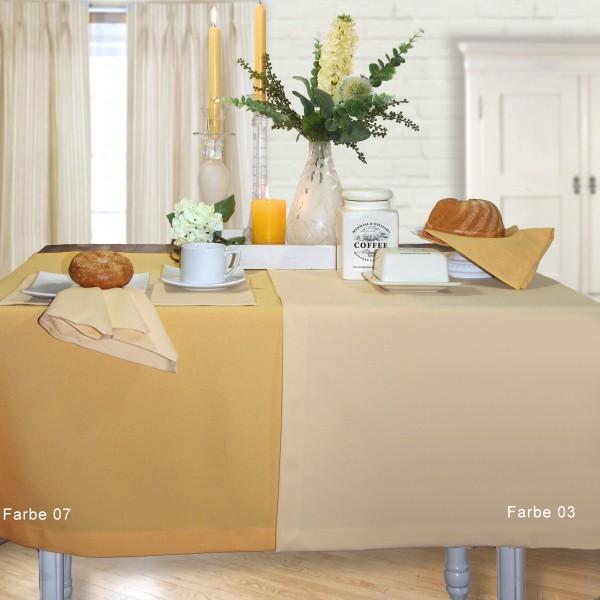EINZELSTÜCK! Tischdecke GALA 135x170cm, Farbe 07-gold (0)