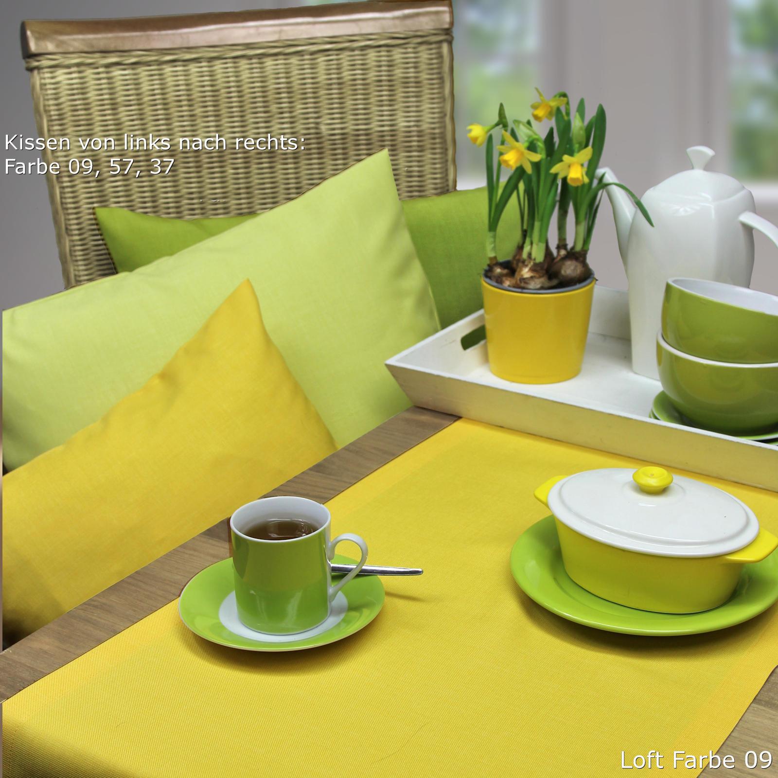 Tischkäufer gelb