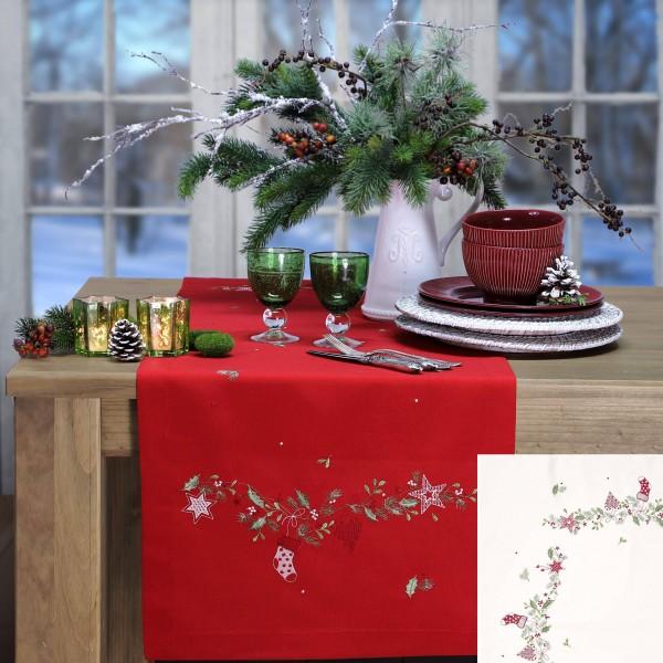 Mitteldecke CHRISTMAS BOW (0)