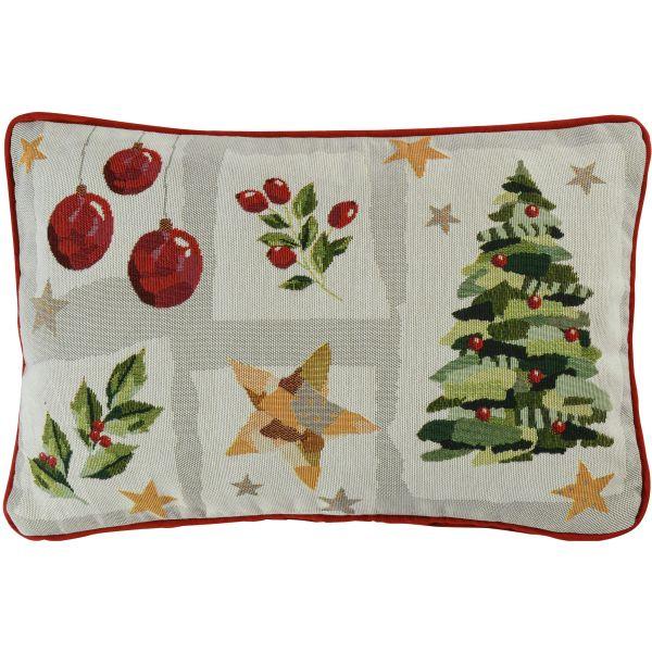 gefülltes Kissen Gobelin MY CHRISTMAS