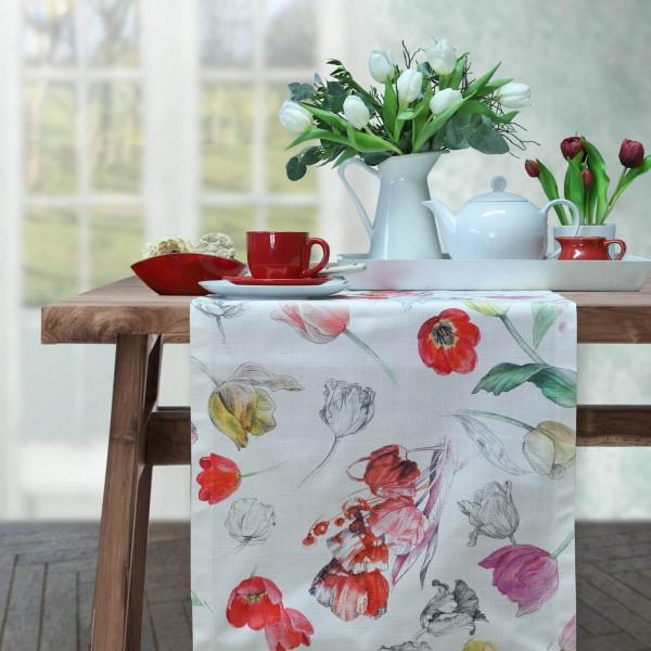 Tischläufer HANNAH mit Tulpen (0)