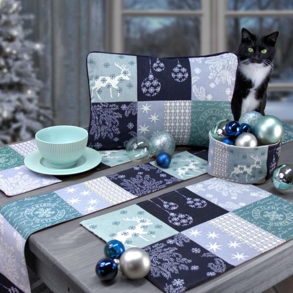 Sander Gobelin Tischläufer Weihnachten Northern Stars (1)