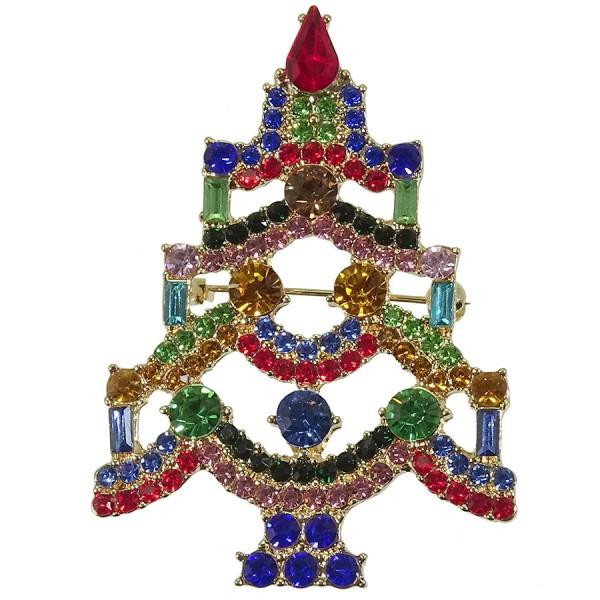 Weihnachtsbrosche Tannenbaum NOSTALGIC CHRISTMAS (0)